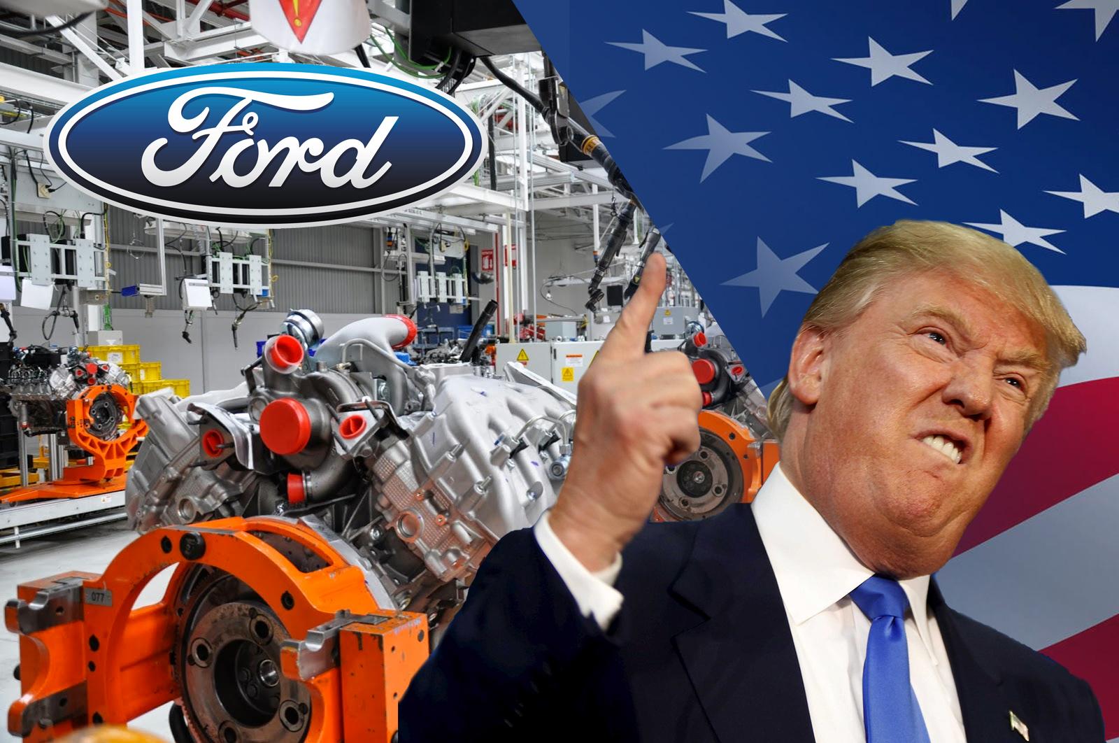 Ford México Trump
