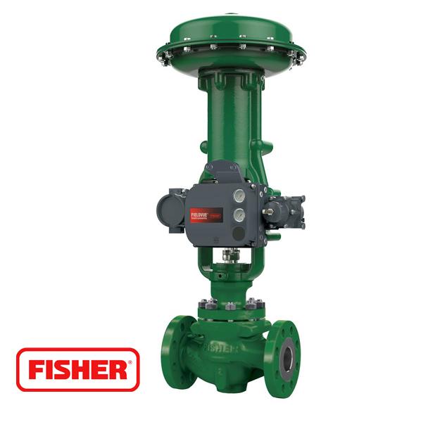 fisher valvula control power steel